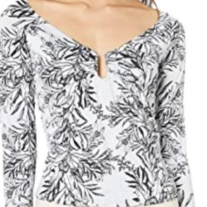 NWT GUESS Women's Long Sleeve Sydney Top Size M